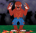 Huge Yard Werewolf Woodcraft Pattern