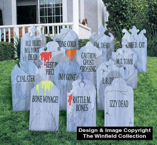 Gravestones Woodcraft Pattern