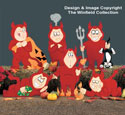 Devious Devils Pattern Set #1