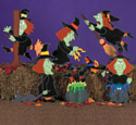 Wacky Witches Woodcraft Pattern