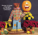 Pumpkin Head Woodcraft Pattern