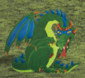 Yard Dragon Woodcraft Pattern