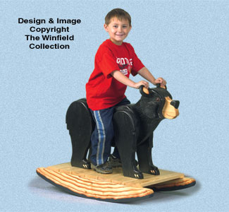 Bear Rocker Woodworking Plan