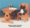 Table & Chair Woodworking Plan