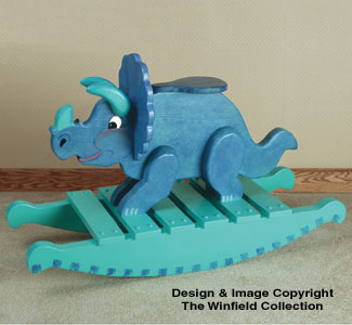 Triceratops Rocker Woodworking Plan