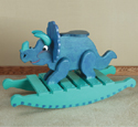 Triceratops Rocker Woodworking Plan