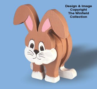 Layered Rabbit Woodcraft Pattern