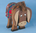 Layered Donkey Woodcraft Pattern