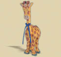 Layered Giraffe Woodcraft Pattern