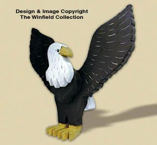 Layered Eagle Woodcraft Pattern