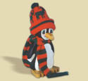 Layered Penguin Woodcraft Pattern