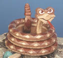 Layered Snake Woodcraft Pattern
