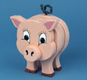 Layered Pig Woodcraft Pattern