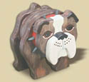 Layered Bulldog Woodcraft Pattern