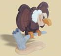 Layered Vulture Woodcraft Pattern