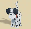 Layered Dalmation Woodcraft Pattern