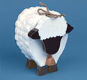 Layered Sheep Woodcraft Pattern