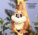 Layered Chipmunk Woodcraft Pattern