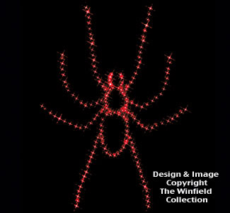 Spider Nite-Lite Wood Plan
