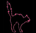 Cat Nite-Lite Woodcraft Pattern