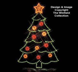 Christmas Tree Nite-Lite Woodcraft Pattern