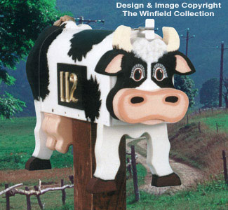 Country Milk Cow Mailbox Pattern