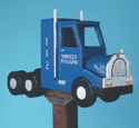 Semi Truck Mailbox Woodcraft Pattern