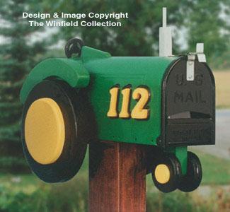 Farm Tractor Mailbox Woodcraft Pattern