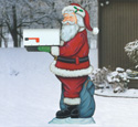 Santa Mailbox Holder Woodcraft Pattern