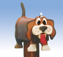 Panting Pooch Mailbox Woodcraft Pattern