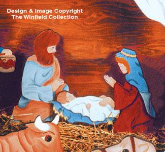 Mary, Joseph & Baby Woodcraft Patterns
