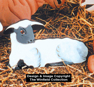 Sheep Woodcraft Pattern