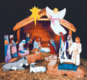 Nativity Scene Patterns 1/3 Life-Size