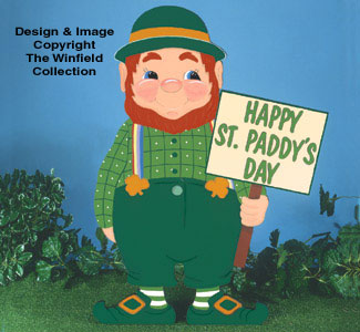 All other holiday leprechaun yard sign patterns for Christmas yard signs patterns