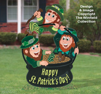 Lucky Leprechauns Woodcraft Pattern