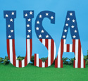 Large USA Display Pattern