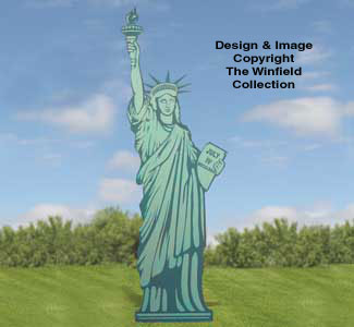 Statue Of Liberty Woodcraft Pattern