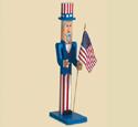 Pole Uncle Sam Woodcraft Pattern
