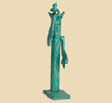 Pole Lady Liberty Woodcraft Pattern