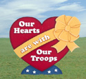 Yard Troop Heart Woodcraft Pattern