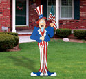 Giant Uncle Sam Woodcrafting Pattern