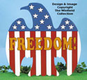 Freedom Eagle Woodcraft Pattern