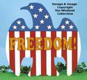 Freedom Eagle Woodcraft Pattern