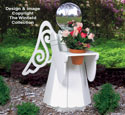 Large Angel Gazing Ball Holder Woodcraft Pattern