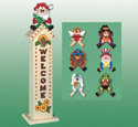 Holiday Birdhouse Greeters Pattern