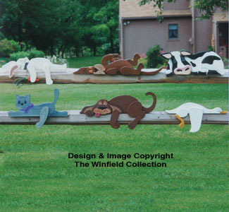 Our Rail Pets Woodcraft Pattern