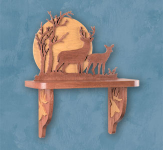 Shelves Deer Shelf Scroll Saw Pattern