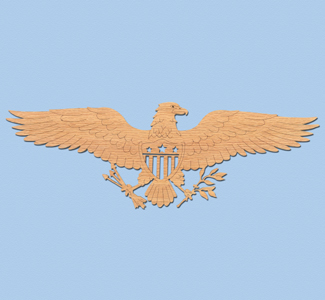 Freedom Eagle Scroll Saw Pattern