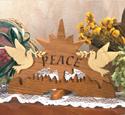 Peace Scroll Saw Pattern