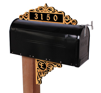 Scrolled Acanthus Mailbox Pattern Set